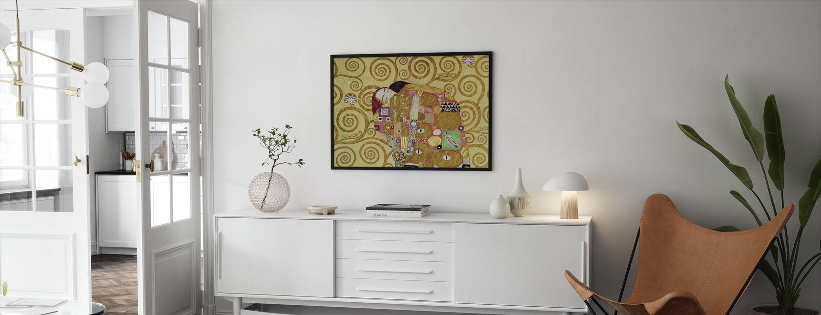 Exécution - Gustav Klimt - Impression encadree - Salle à manger