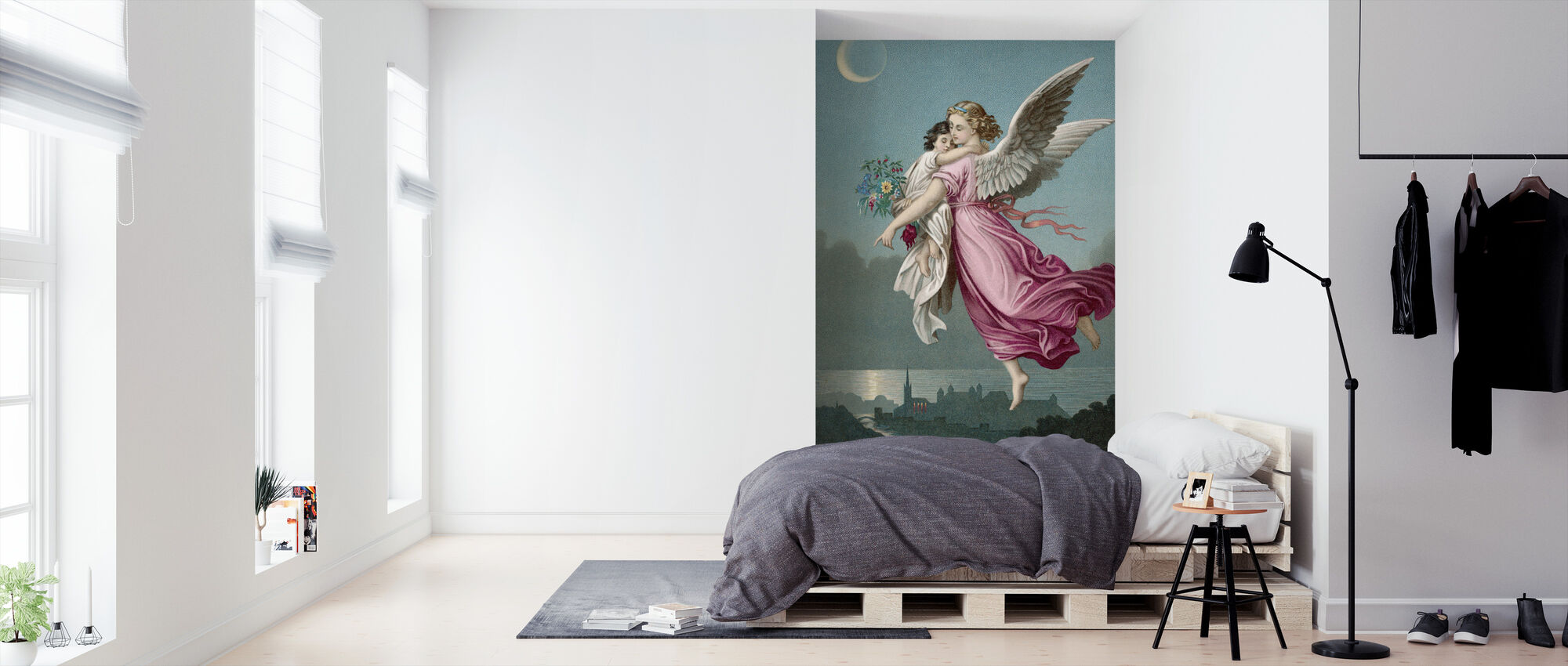 Carrying - Wallpaper - Bedroom