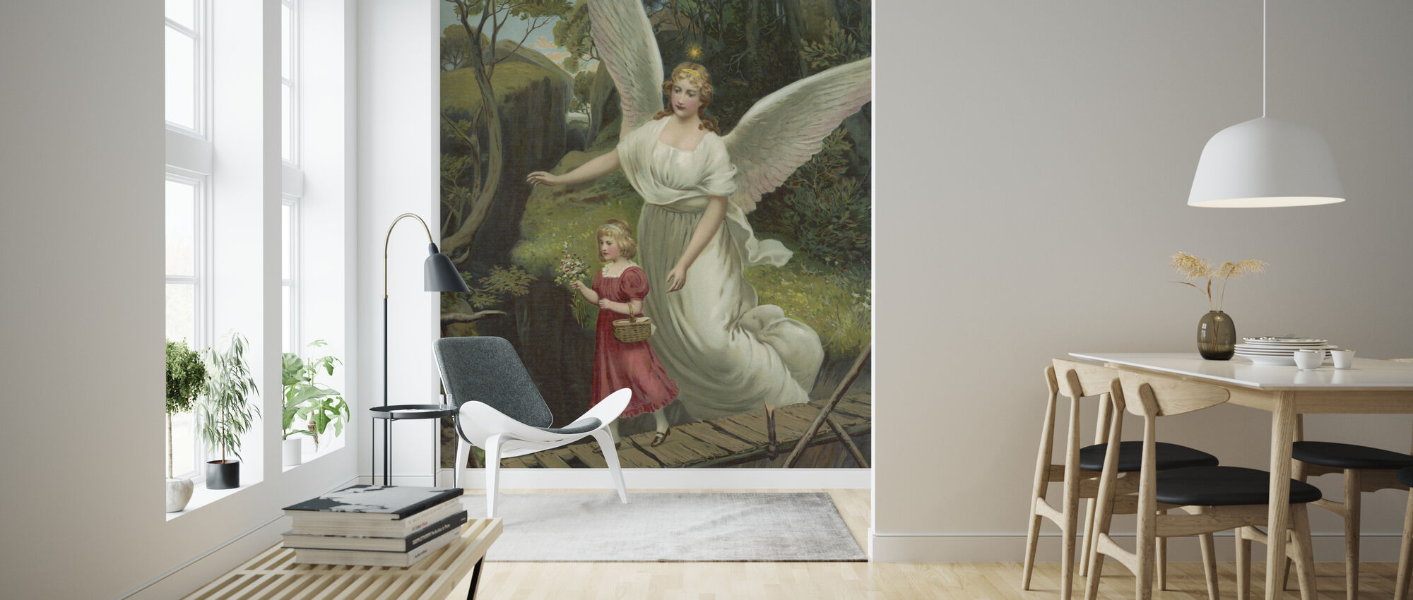 Guardian Angel - Wallpaper - Living Room