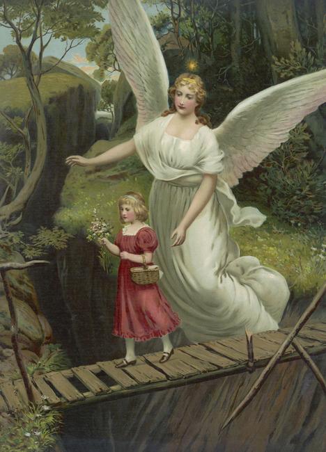 Kuva Guardian Angel Tapetit / tapetti 100 x 100 cm