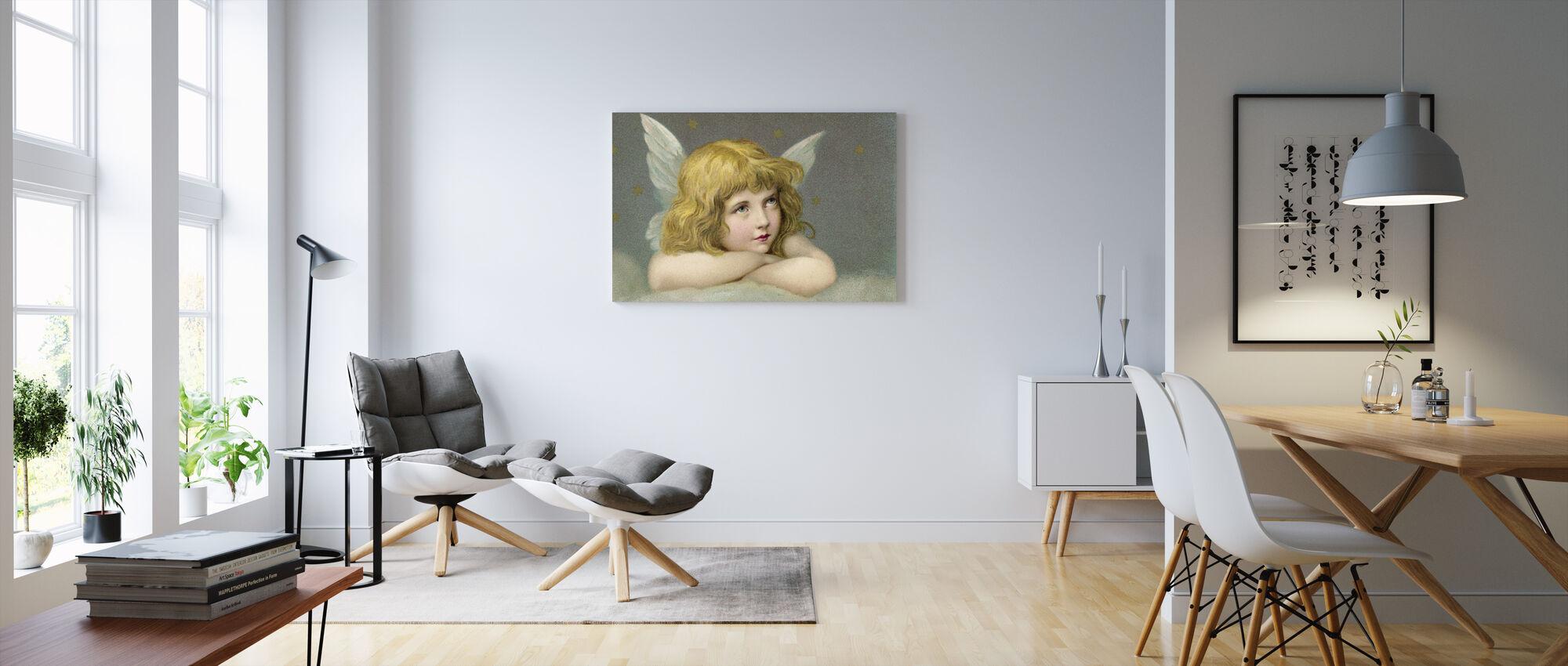 Little Angel - Canvas print - Living Room
