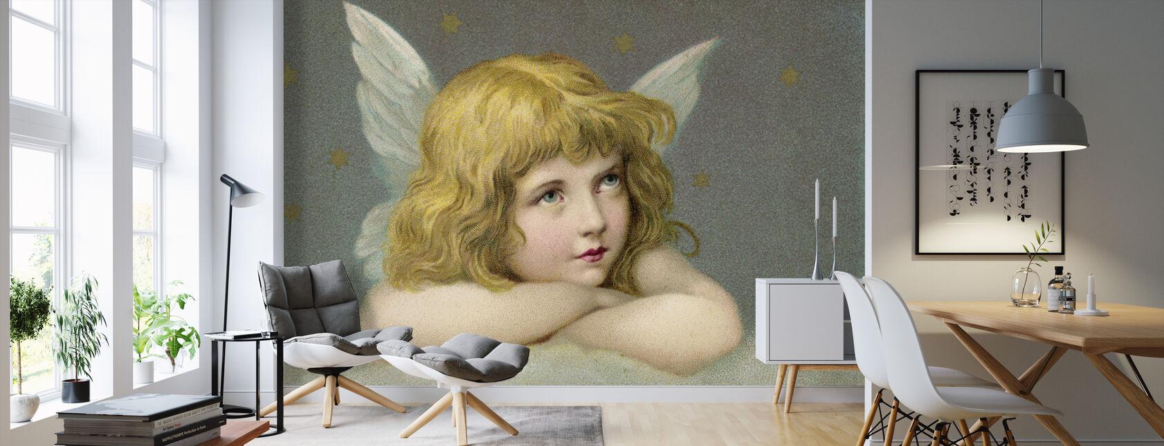 Mały anioł - Tapeta - Pokój dzienny