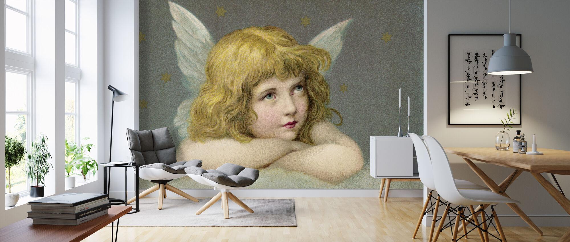 Little Angel - Wallpaper - Living Room