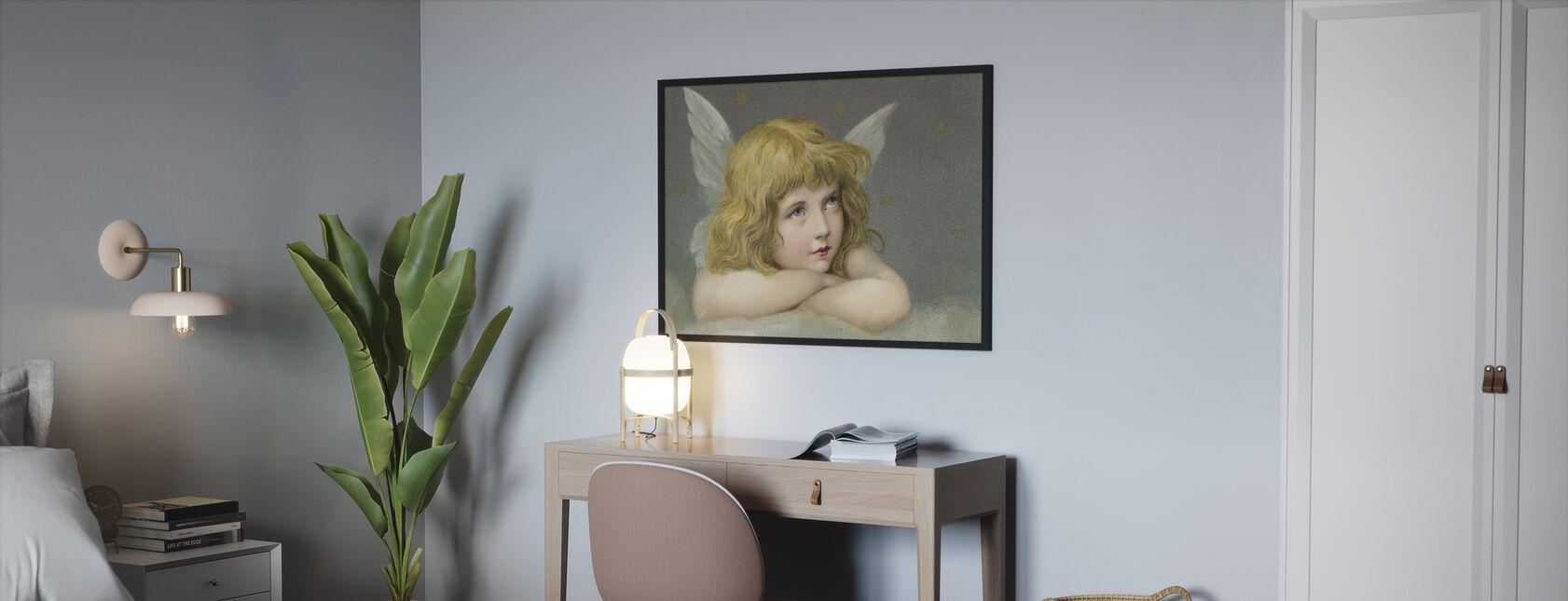 Little Angel - Framed print - Bedroom