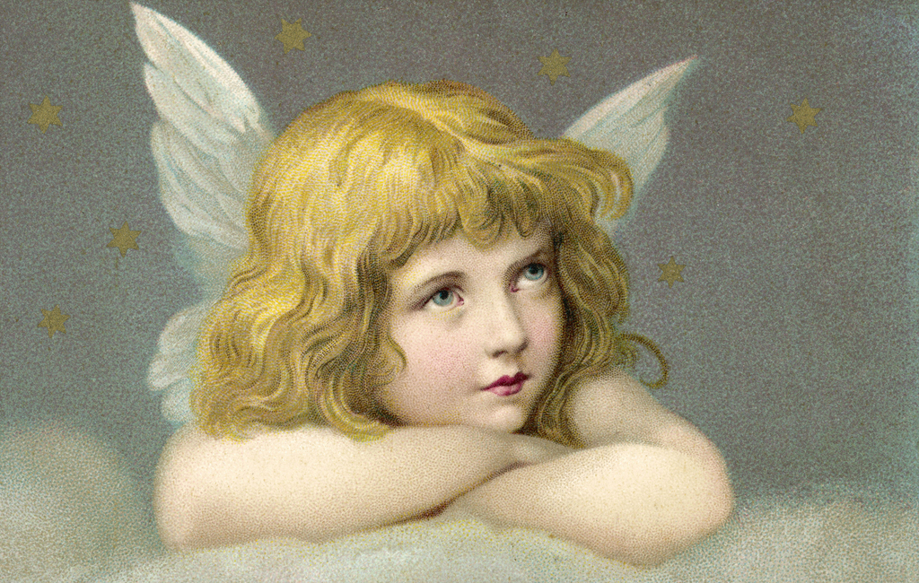 Kuva Little Angel Tapetit / tapetti 100 x 100 cm