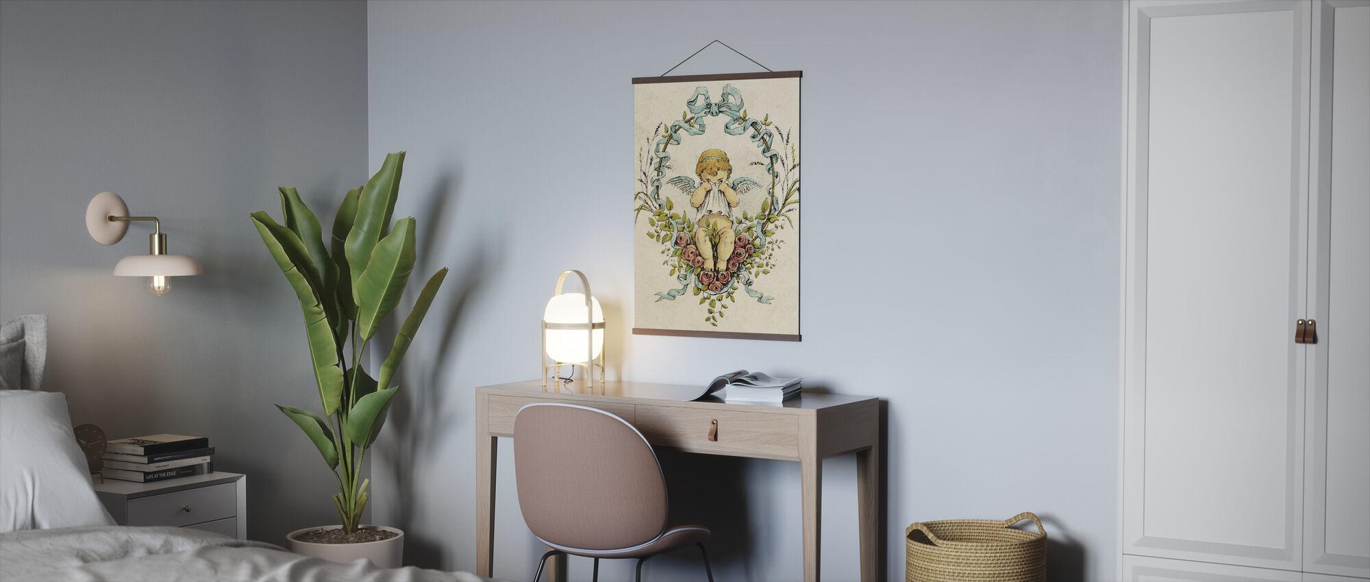 Huilende Cupido - Poster - Kantoor