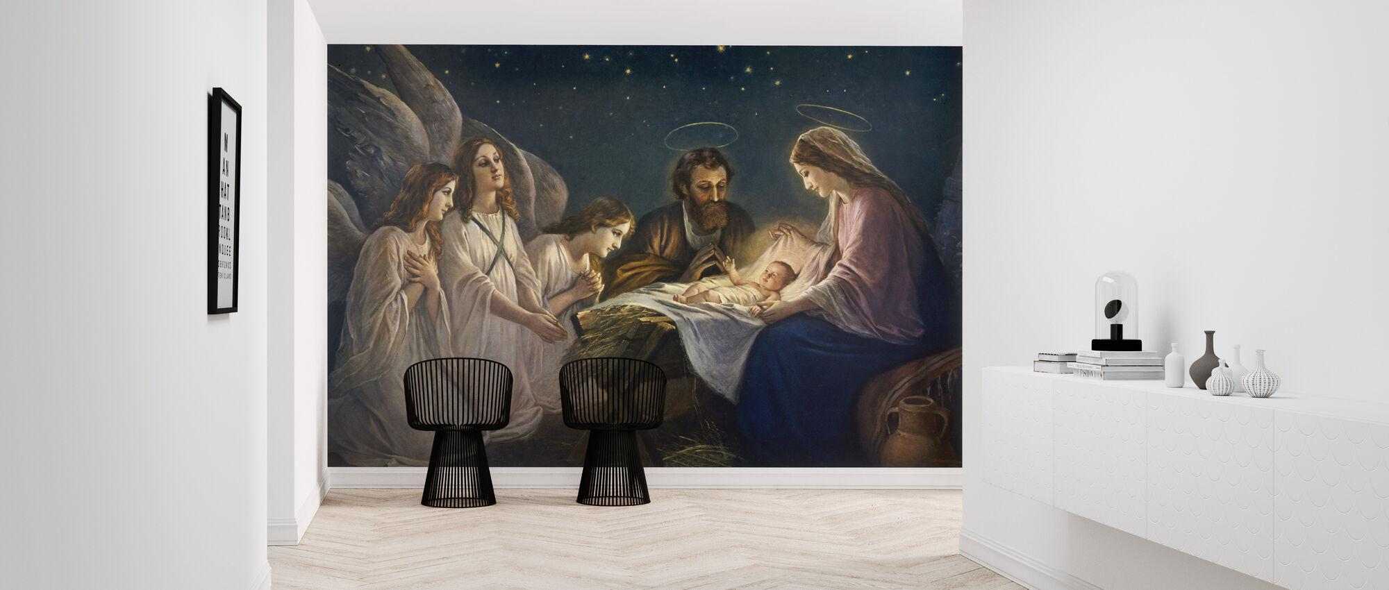 Josef og Maria - Tapet - Gang