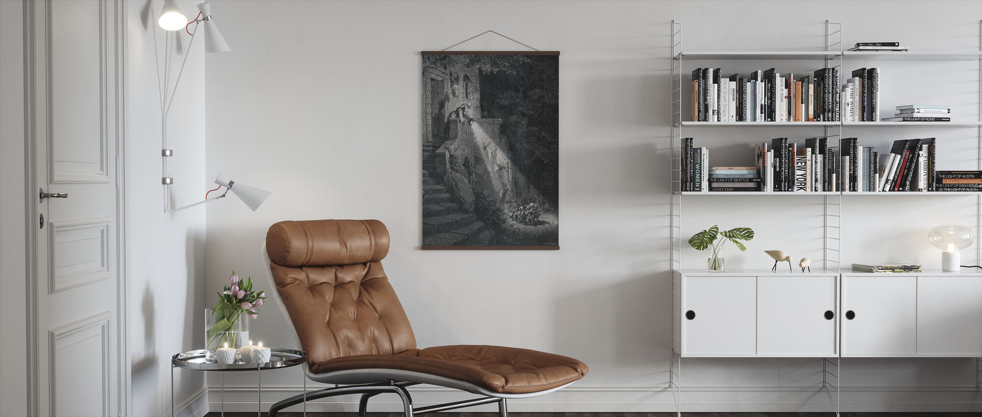 Gustave Dore - Ogre in the Forest - Poster - Living Room