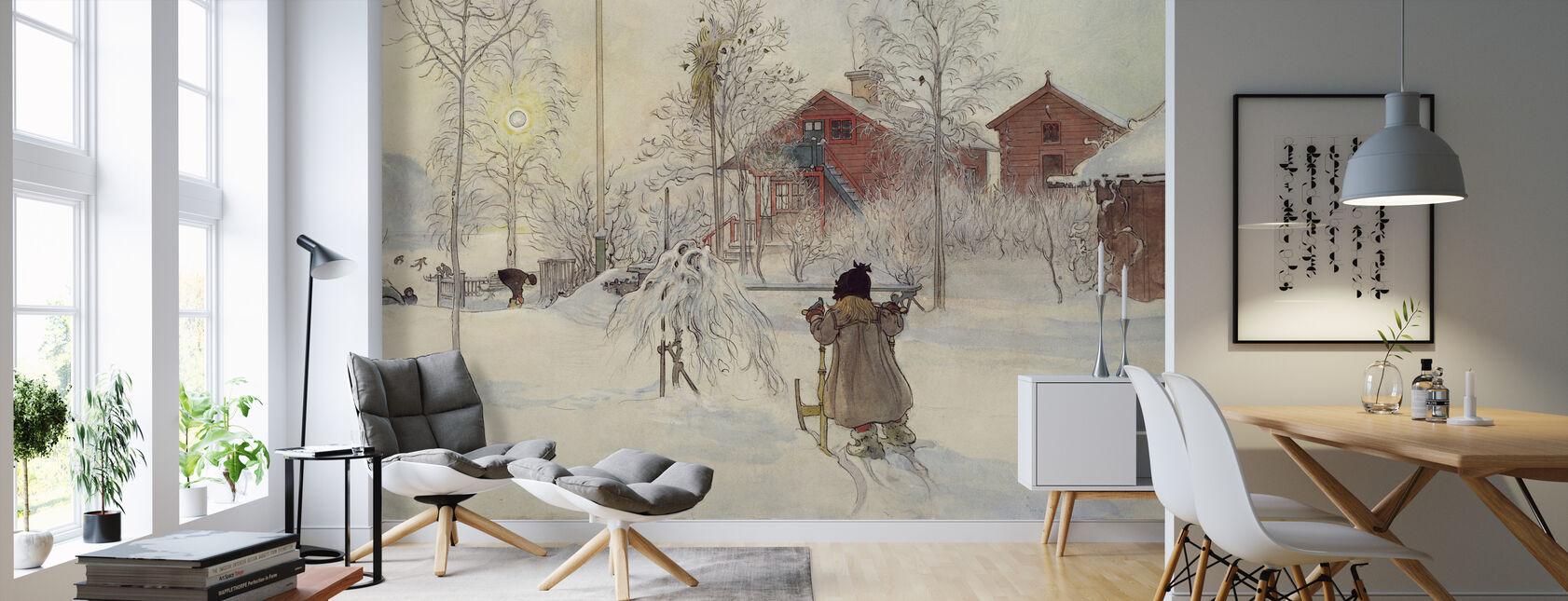 Carl Larsson - Have og Brugge Hus - Tapet - Stue