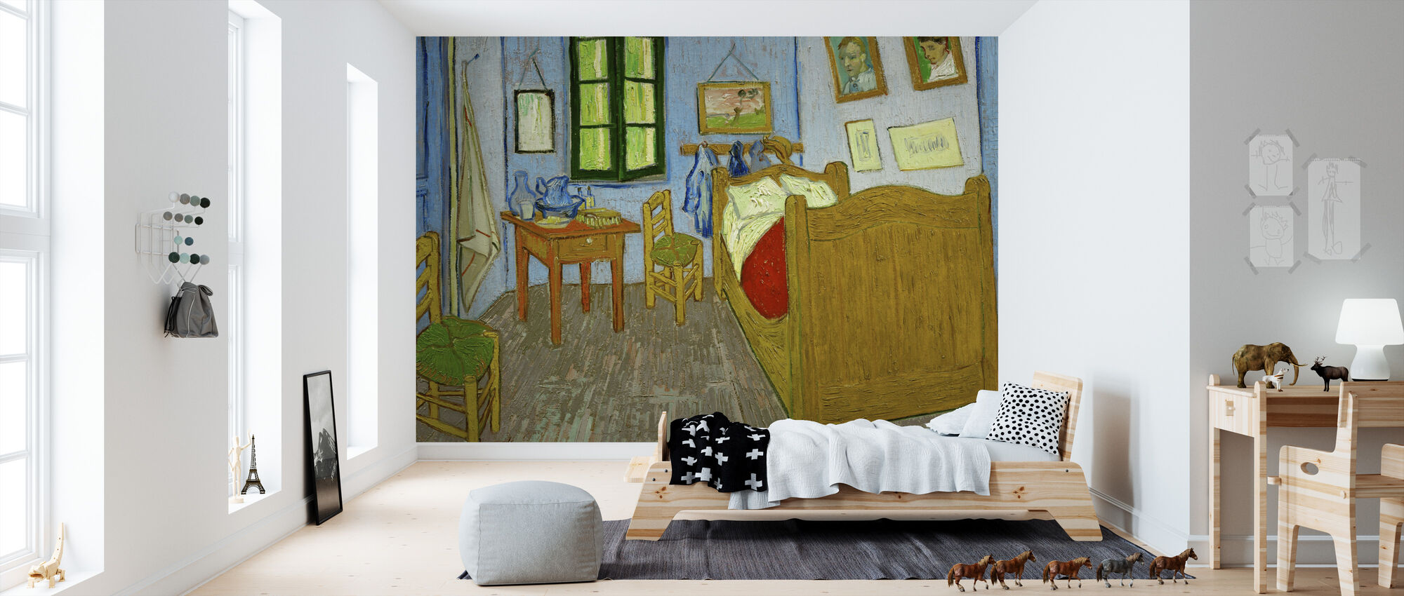 Vincent van Gogh - Arles - Behang - Kinderkamer