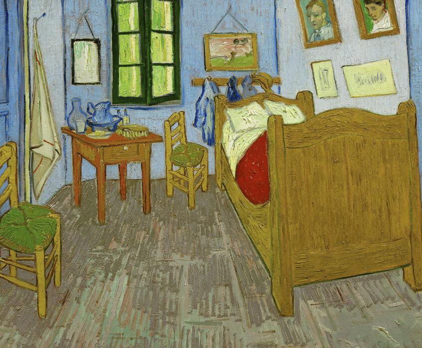 Van Gogh Behang : Restyling van mijn hal met van gogh behang van bn wallcoverings