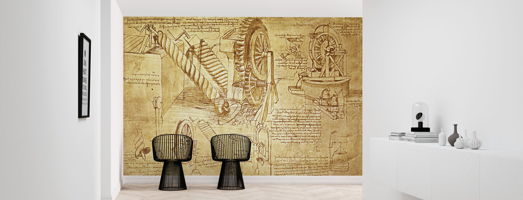 Leonardo da Vinci - Atlanticus - Wallpaper - Hallway