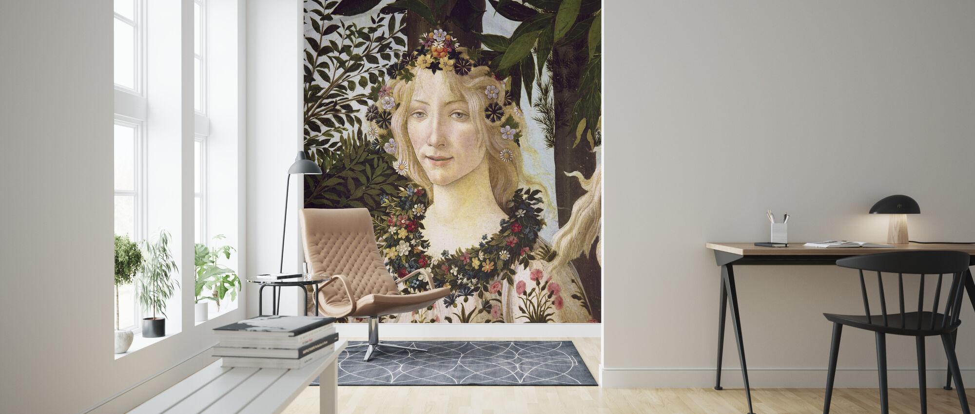 Sandro Botticelli - 158 Flora - Wallpaper - Living Room