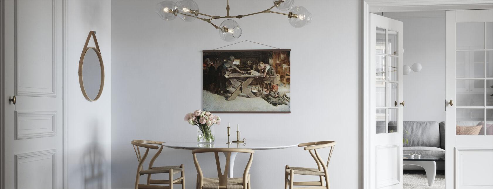 Anders Zorn - Bakningen - Poster - Kitchen