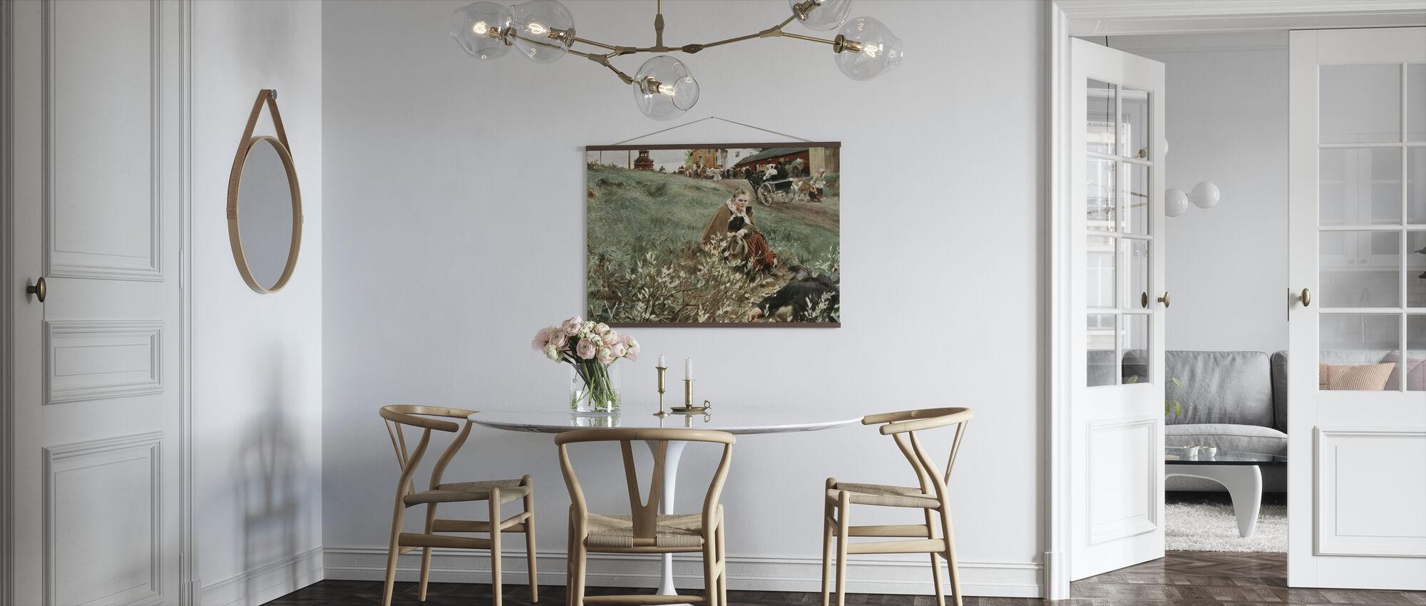 Anders Zorn - Julstamning - Plakat - Kjøkken