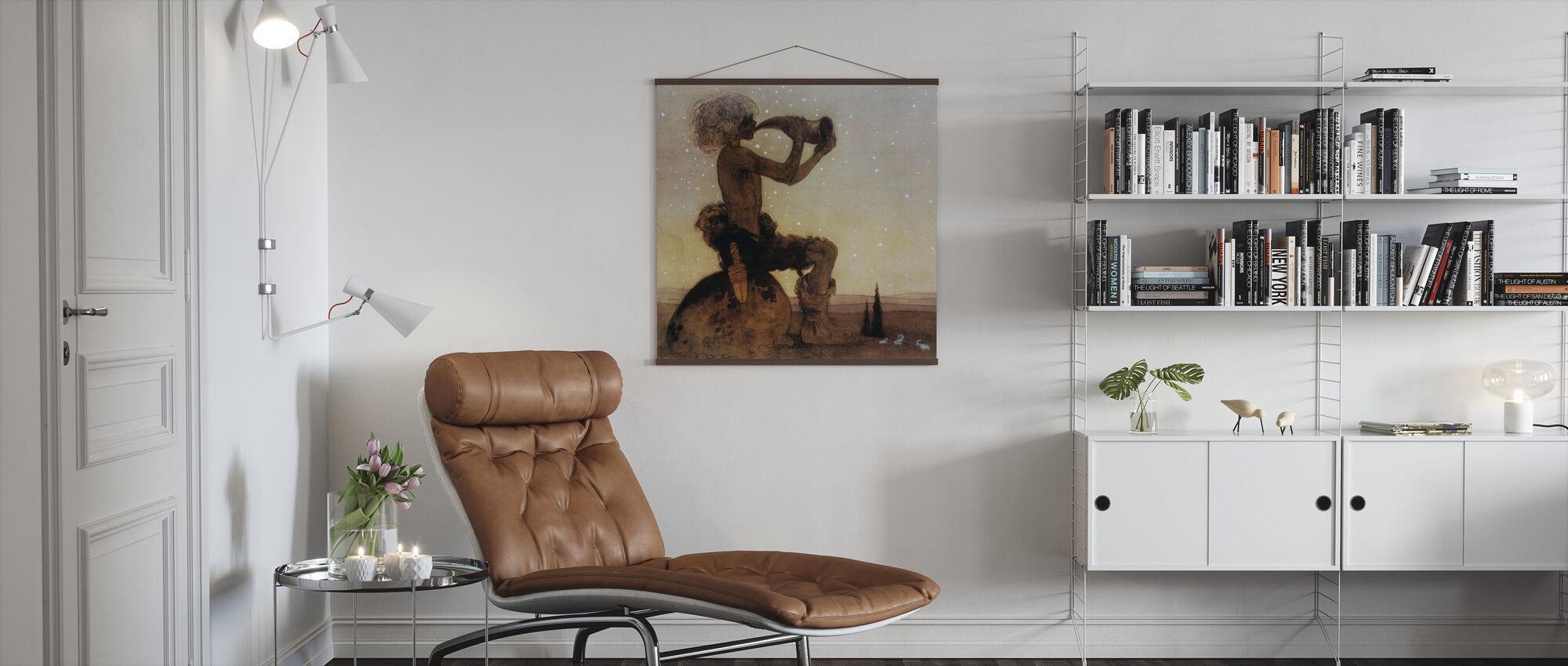 John Bauer - Vil-Vallareman - Poster - Living Room