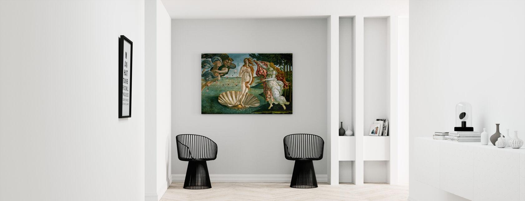 Sandro Botticelli - Birth of Venus - Canvas print - Hallway