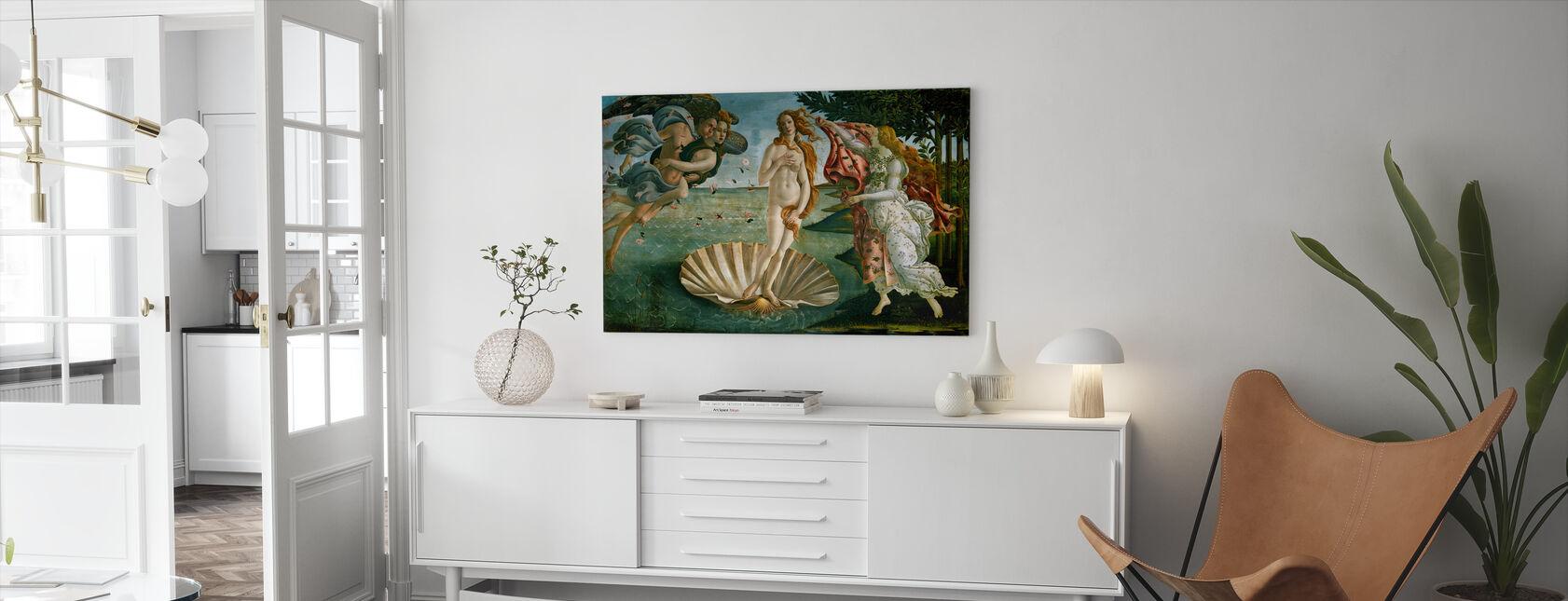 Sandro Botticelli - Geburt der Venus - Leinwandbild - Wohnzimmer