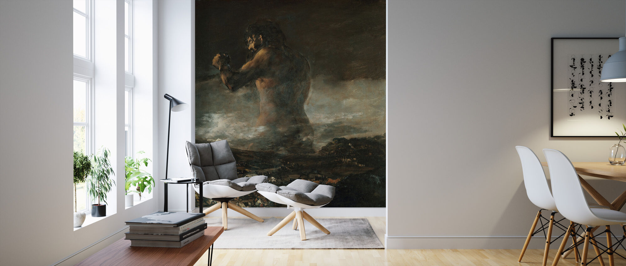 Francisco Goya - Colossus - Wallpaper - Living Room
