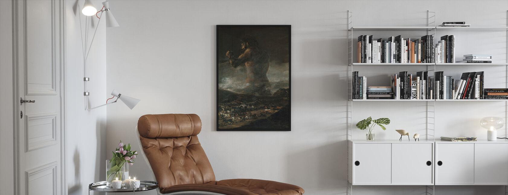 Francisco Goya - Kolossen - Inramad tavla - Vardagsrum