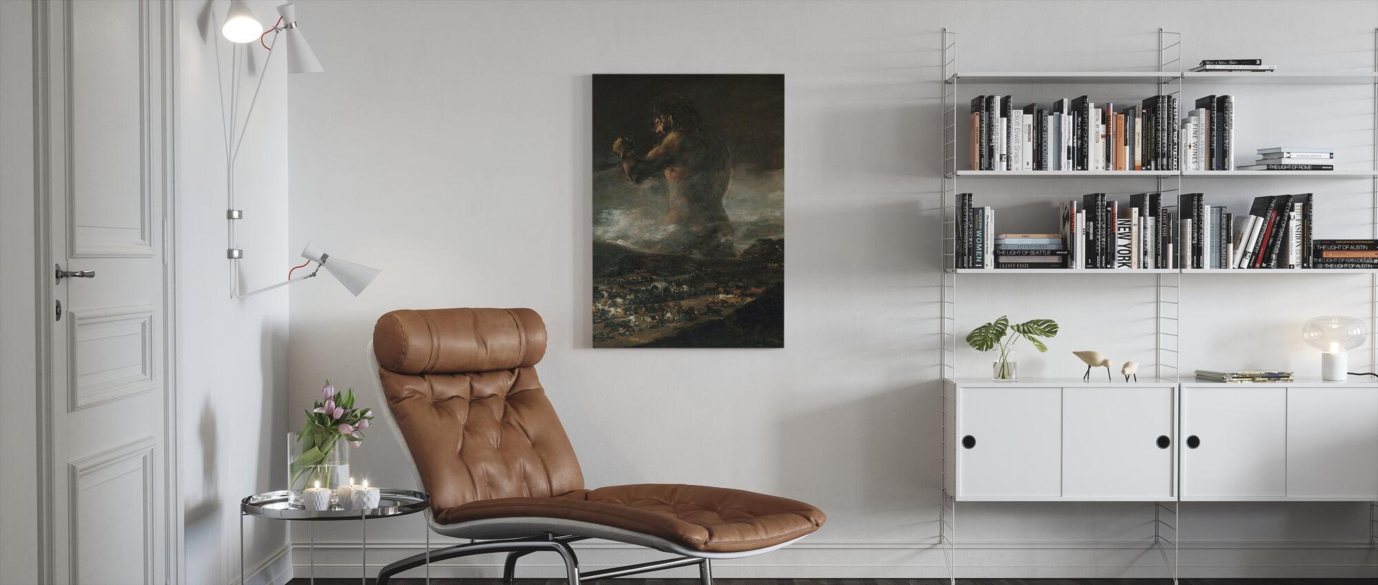 Francisco Goya - Colossus - Canvas print - Living Room