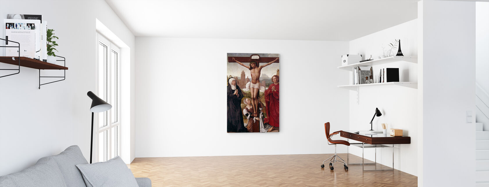 Crucifixion - Canvas print - Office