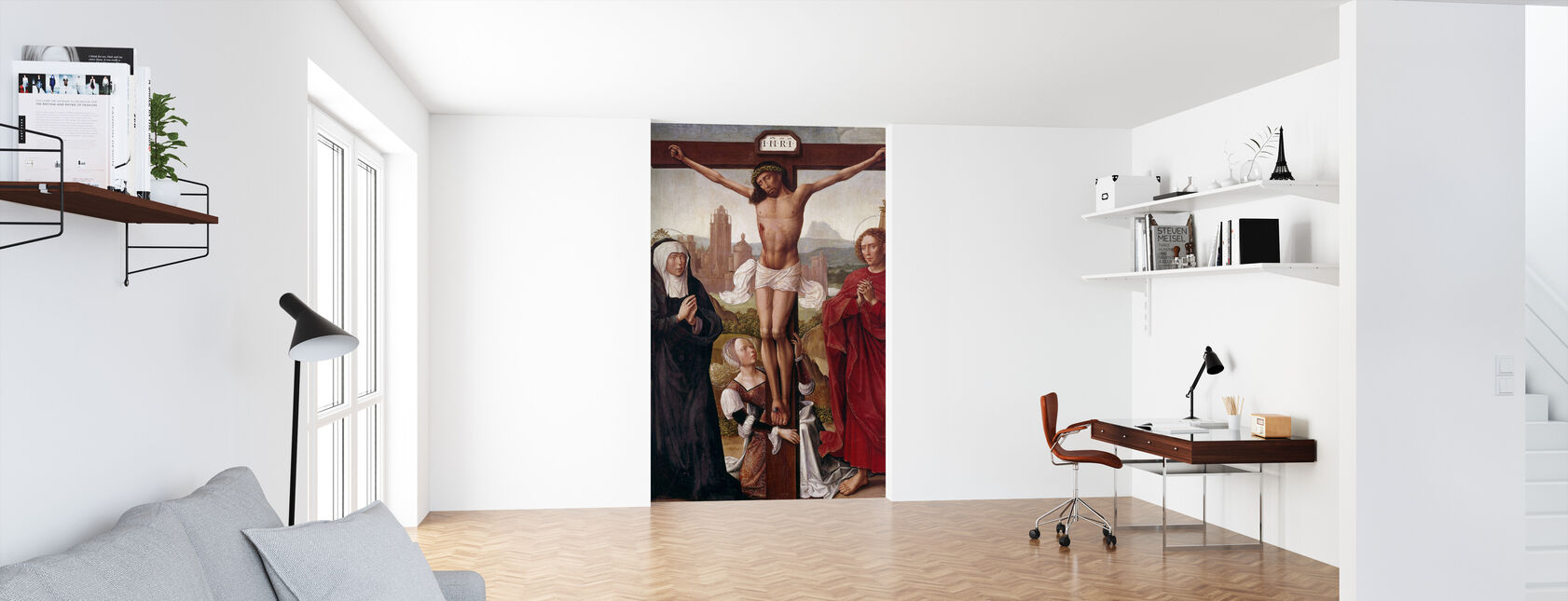 Crucifixion - Wallpaper - Office