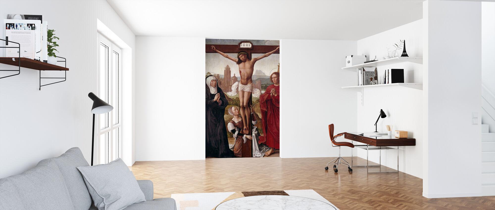 Kreuzigung - Tapete - Büro