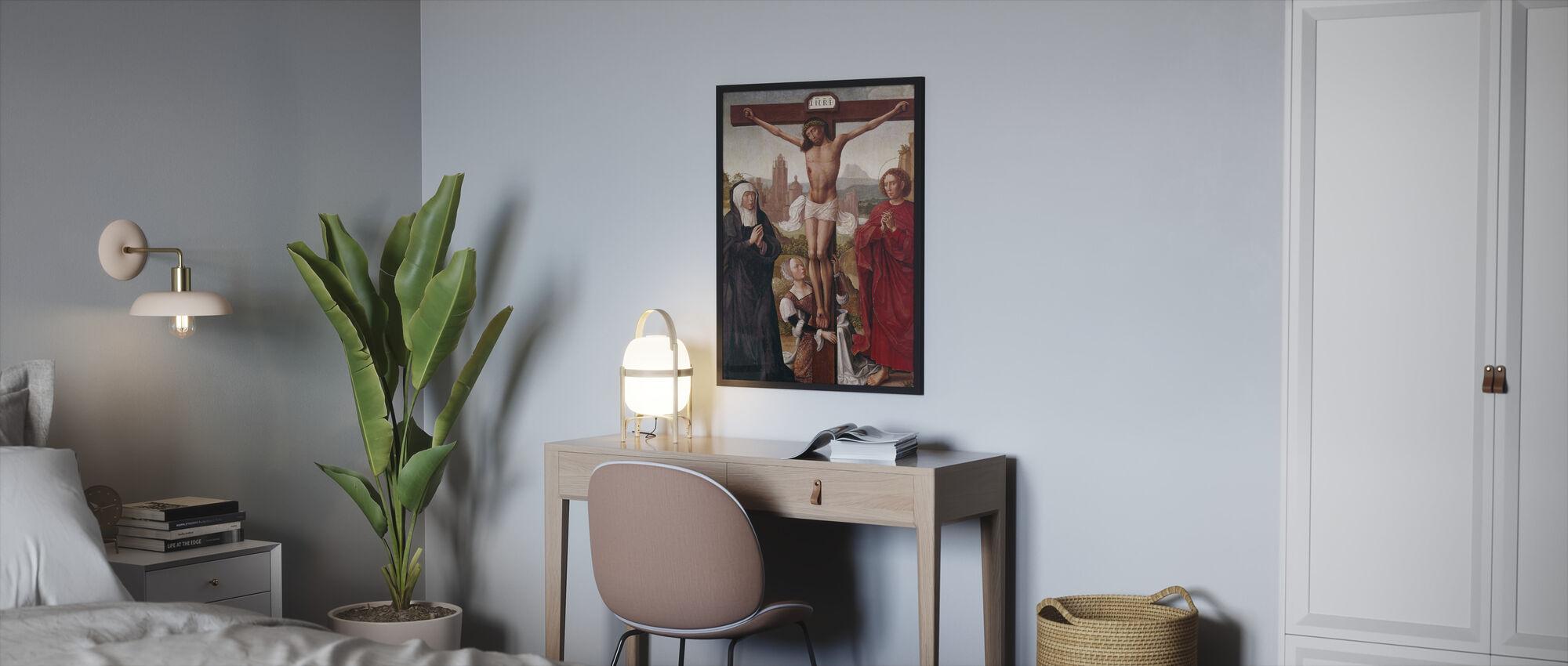 Crucifixión - Print enmarcado - Dormitorio