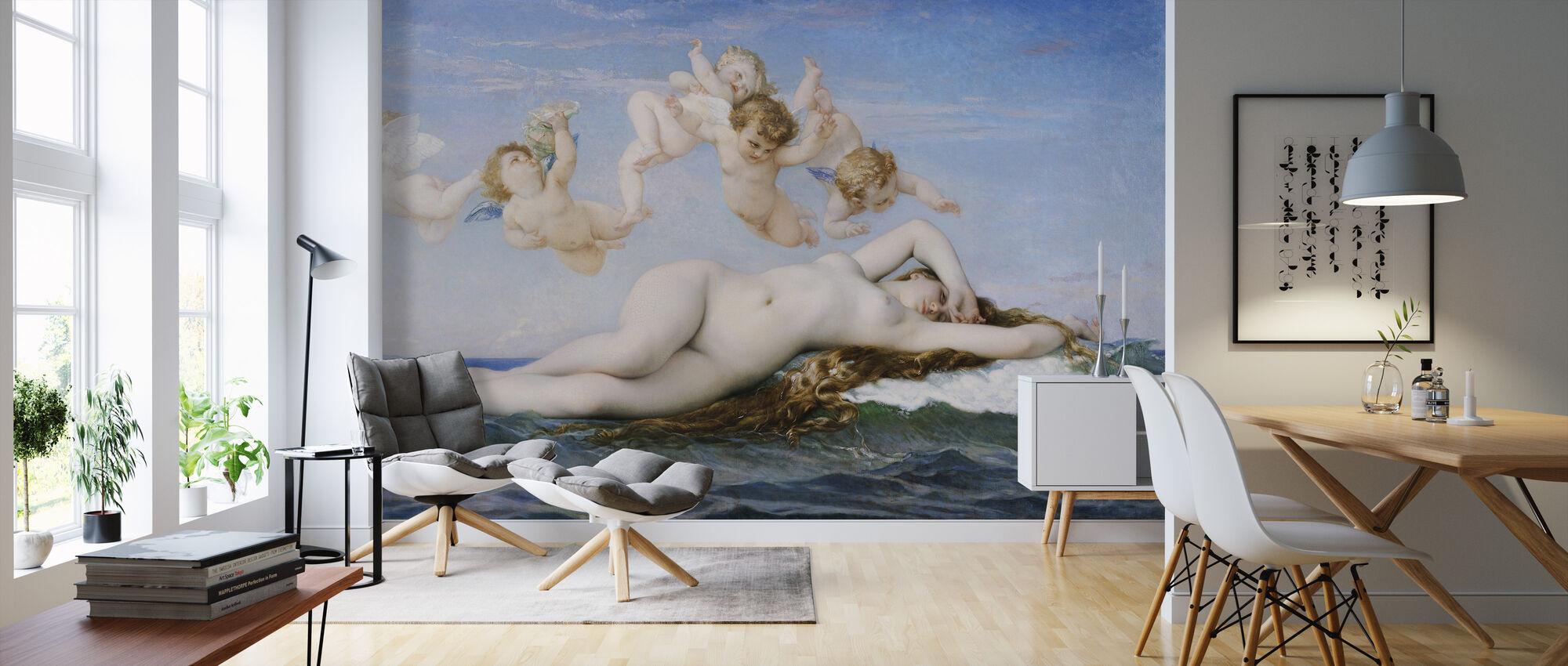 Fødsel av Venus, Alexandre Cabanel - Tapet - Stue