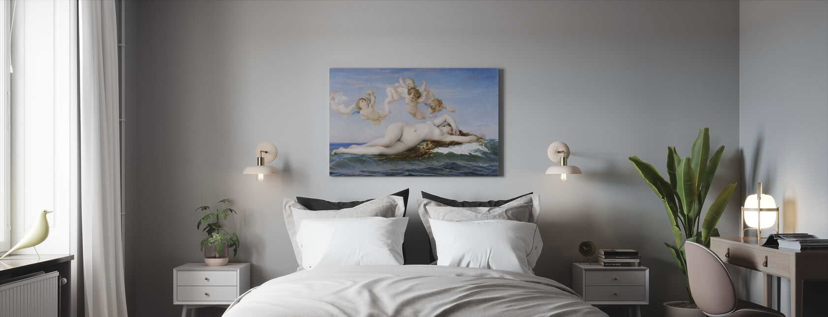 Birth of Venus, Alexandre Cabanel - Canvas print - Bedroom