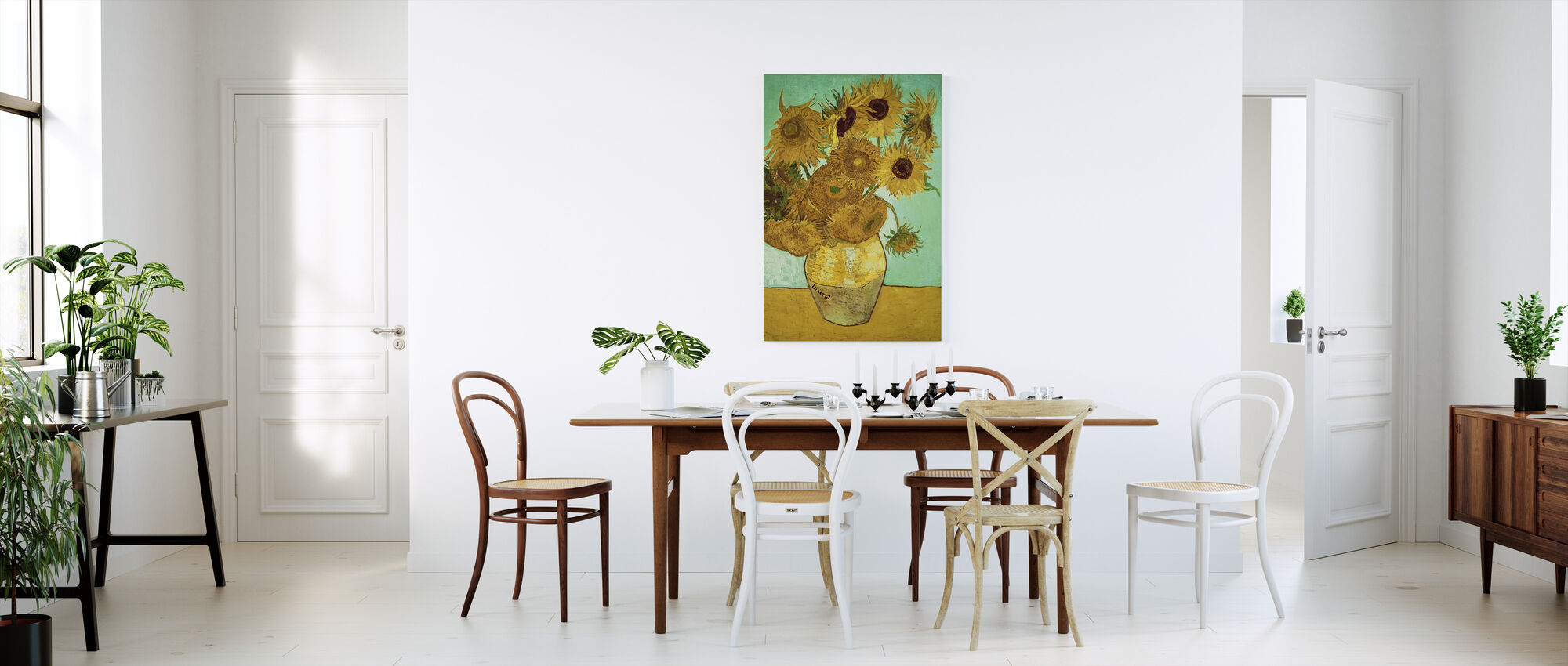 Sunflowers - Vincent Van Gogh - Canvas print - Kitchen