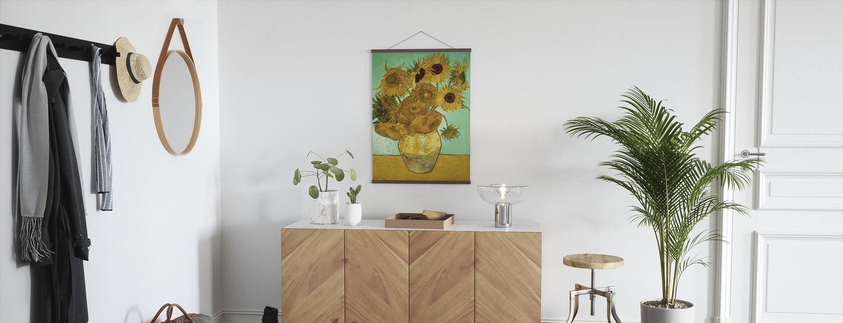 Solsikker - Vincent Van Gogh - Plakat - Gang