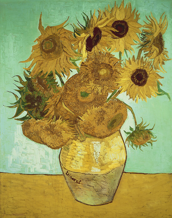 Sunflowers - Vincent Van Gogh – a wall mural for every room – Photowall