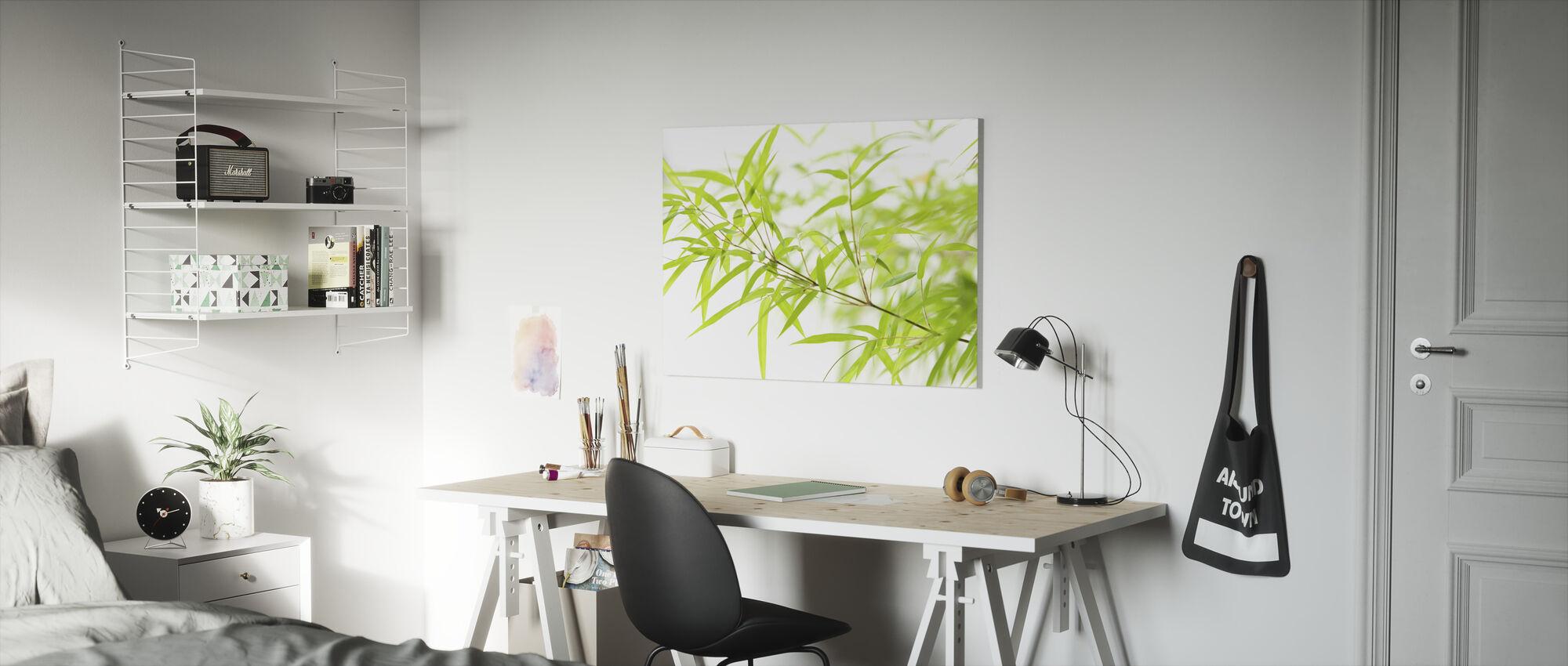 Miniature Bamboo - Canvas print - Kids Room