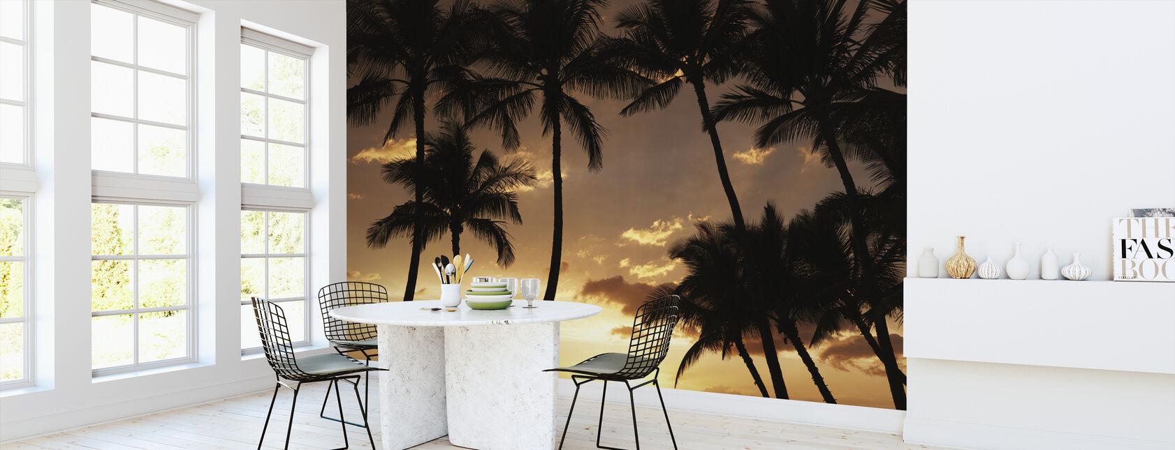 Hawaii Sunset - Wallpaper - Kitchen