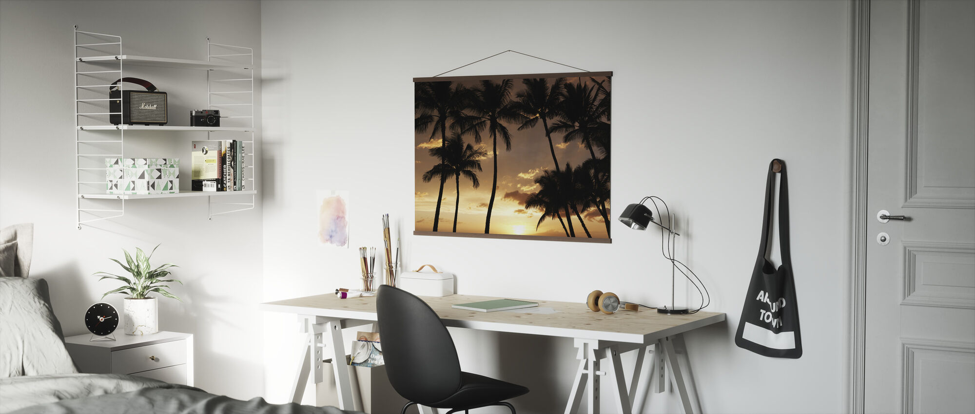 Hawaii Sunset - Poster - Office