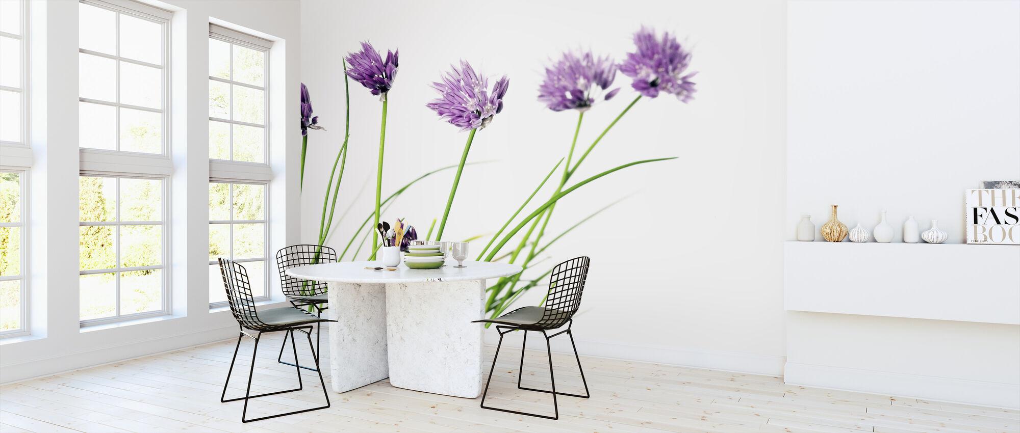 Lovely Flowers - Wallpaper - Kitchen