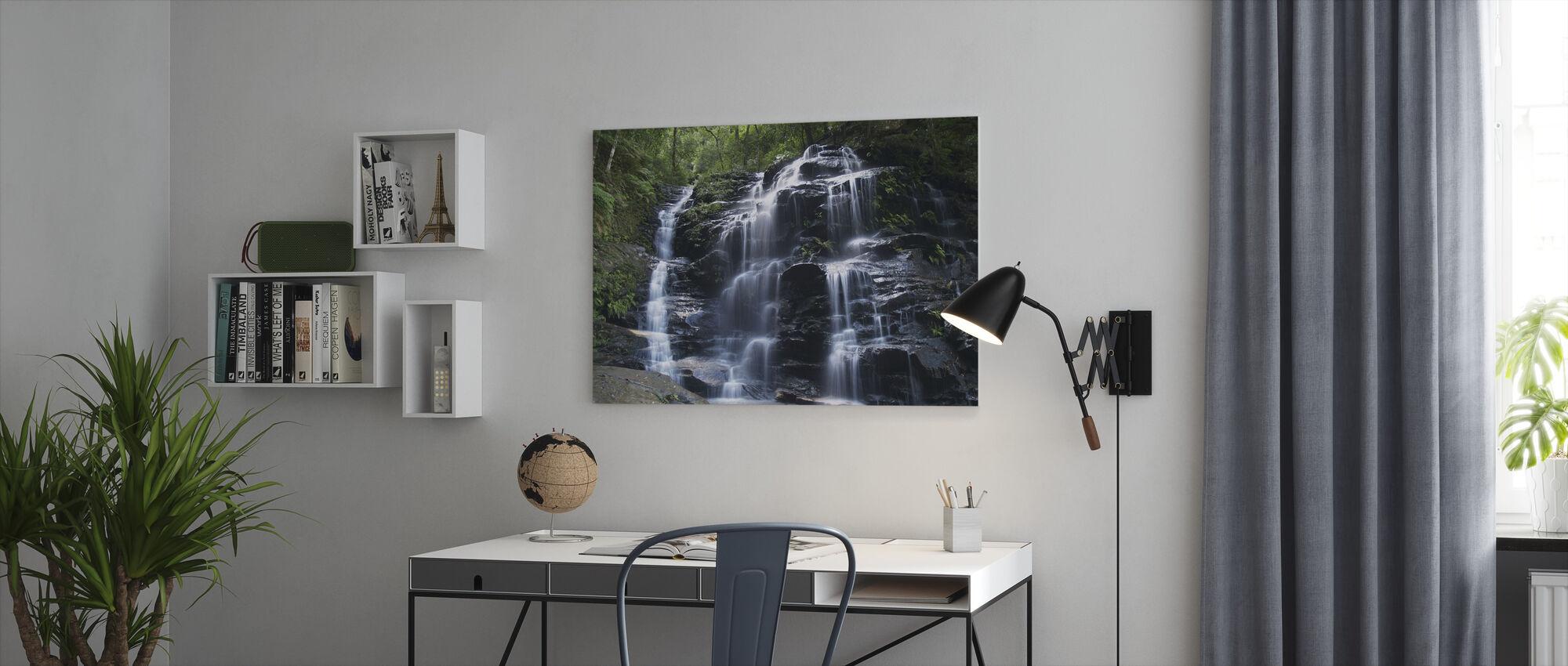 Amazon Waterfall - Canvas print - Office