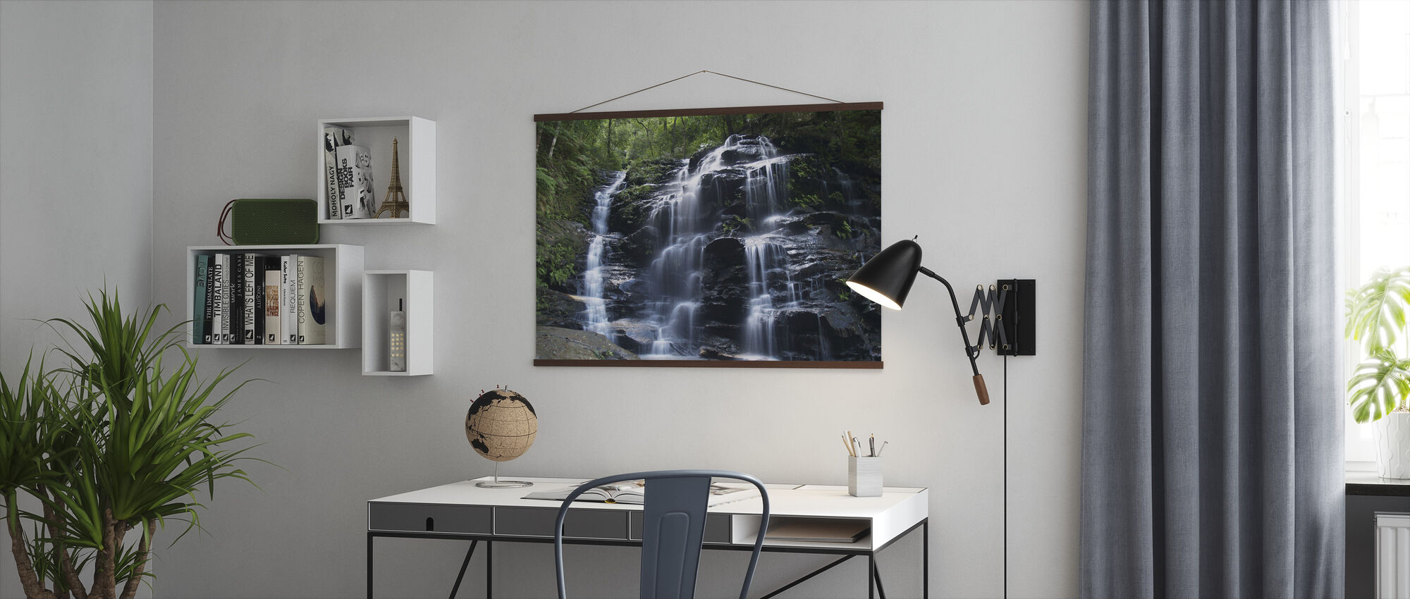 Amazon Waterfall - Poster - Office