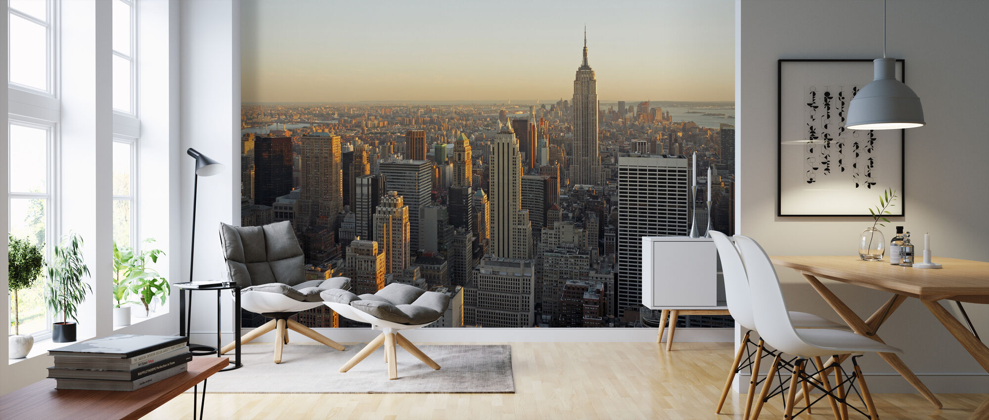 New York City, New York - Tapete - Wohnzimmer