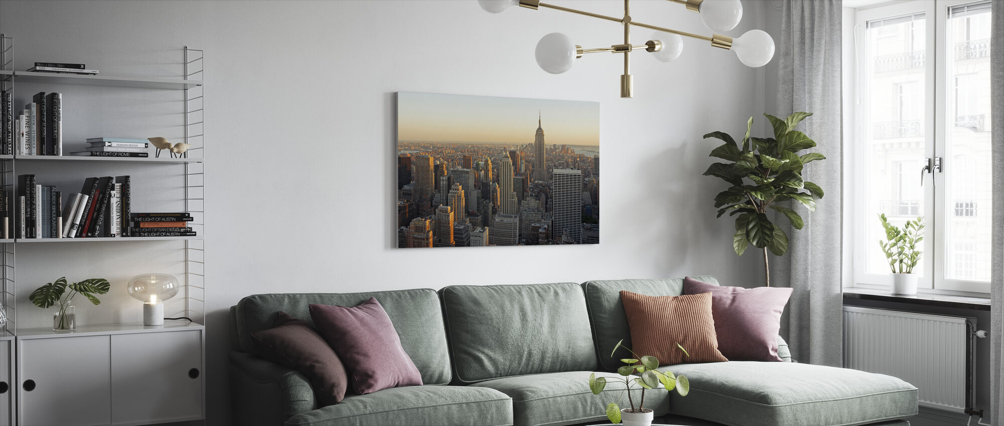 New York City, New York - Canvas print - Living Room