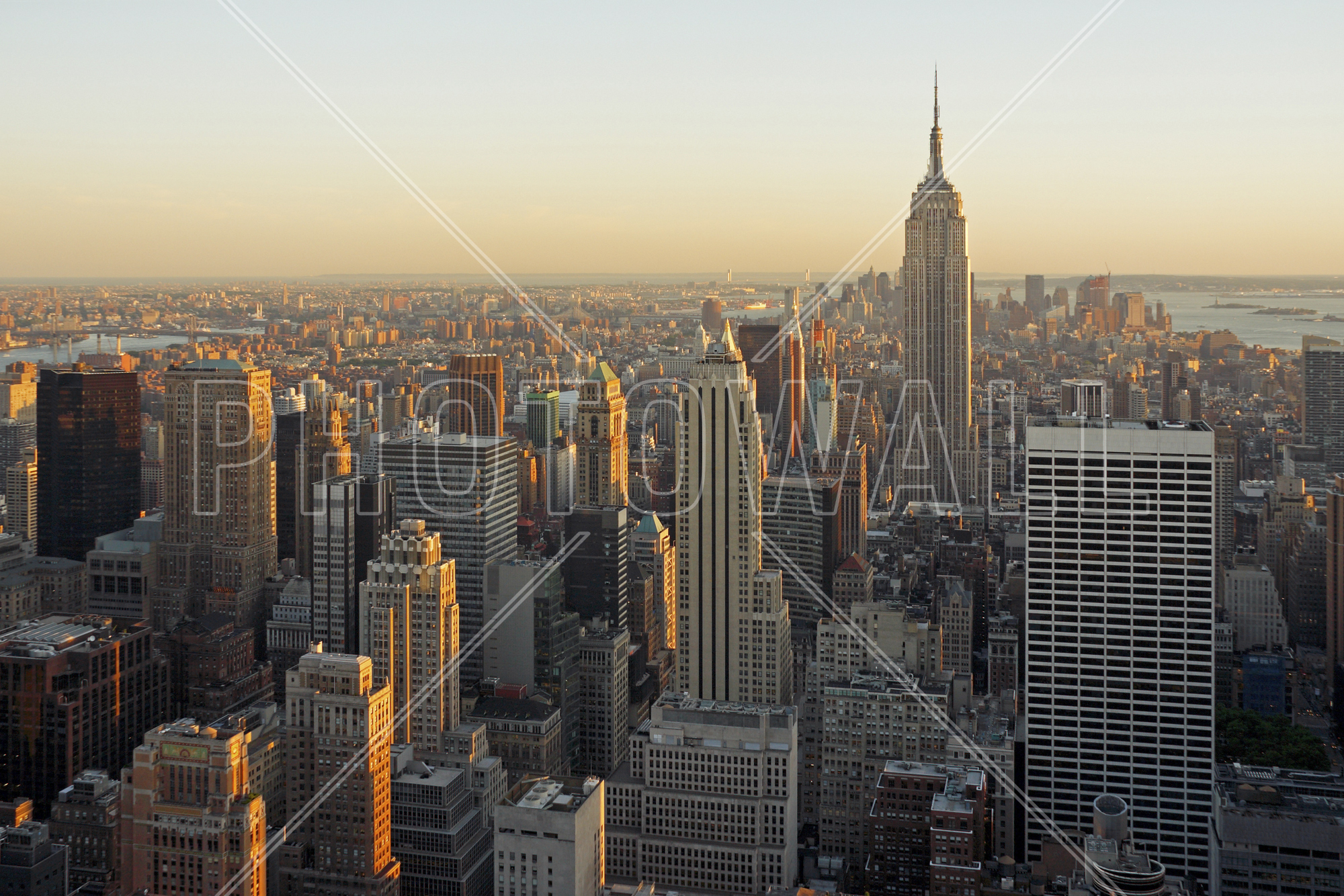Orte in NYC gelegt werden