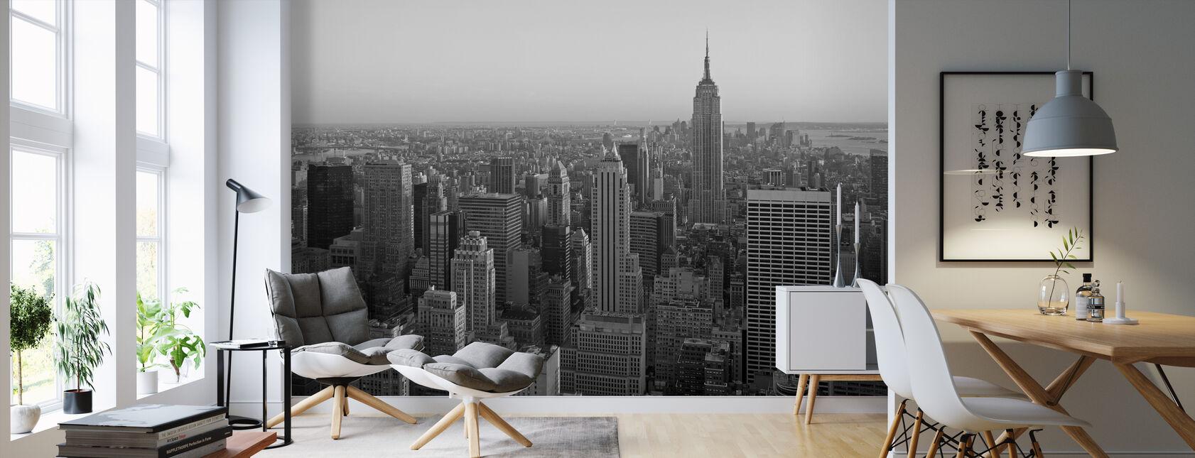 New York, New York - Behang - Woonkamer