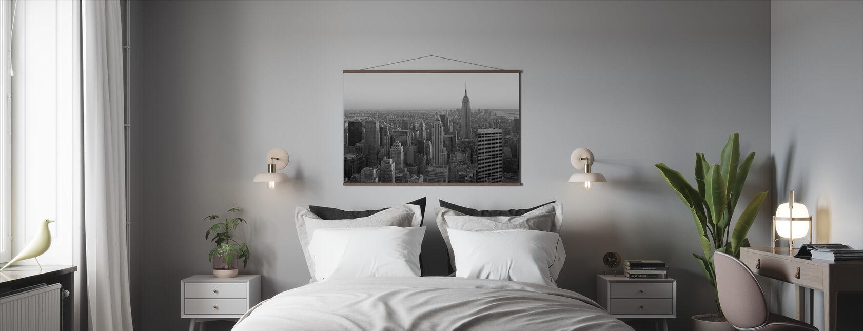 New York City, New York - Poster - Bedroom