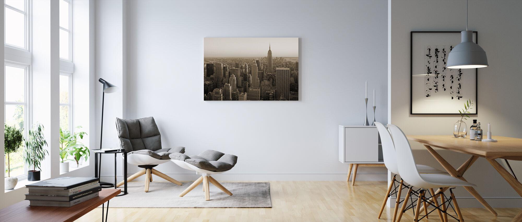 New York, New York - Canvas print - Woonkamer