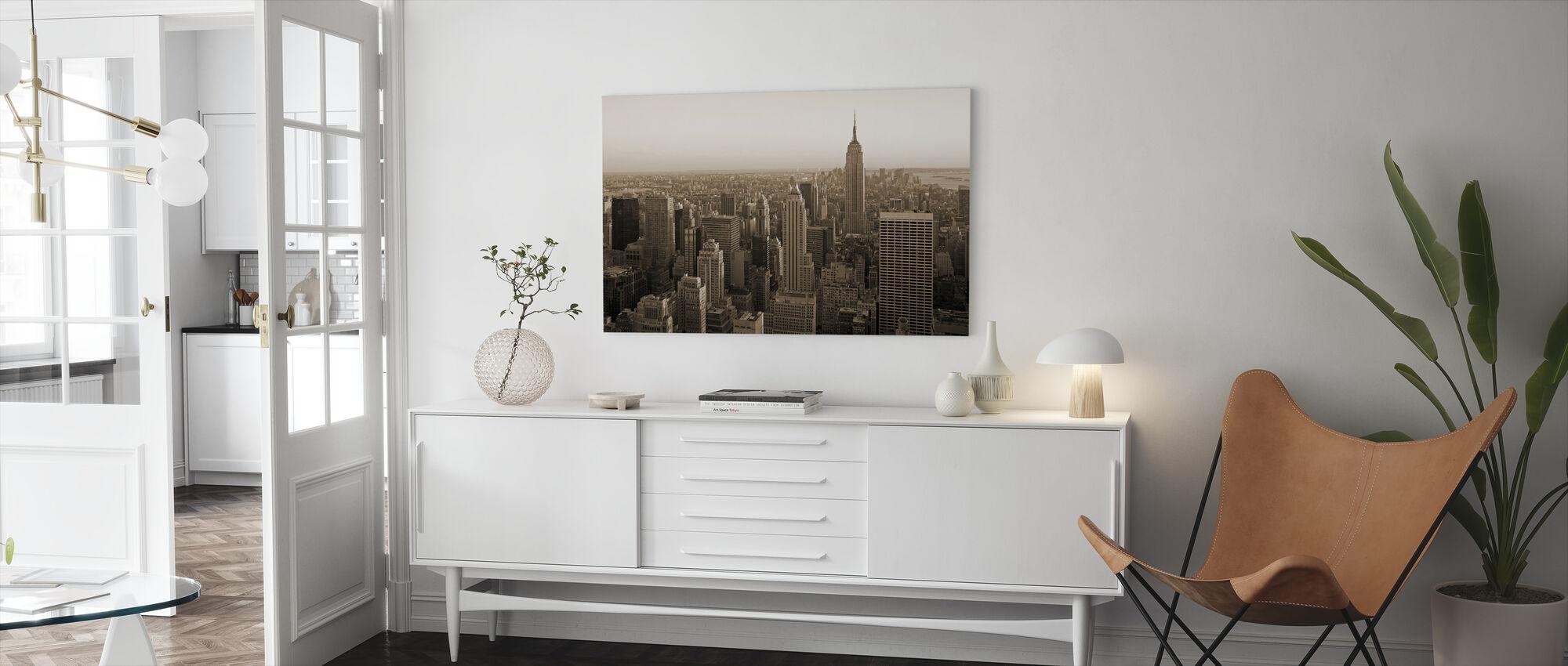 New York City, New York - Canvas print - Living Room