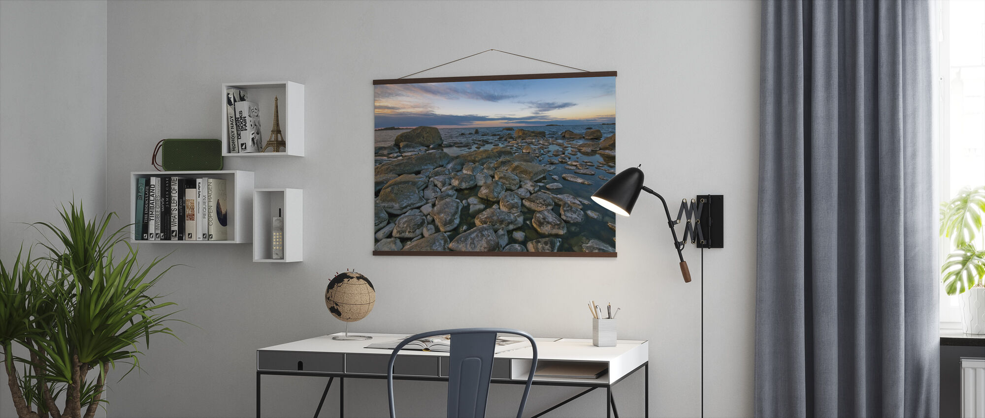 Swedish Shoreline - Poster - Office