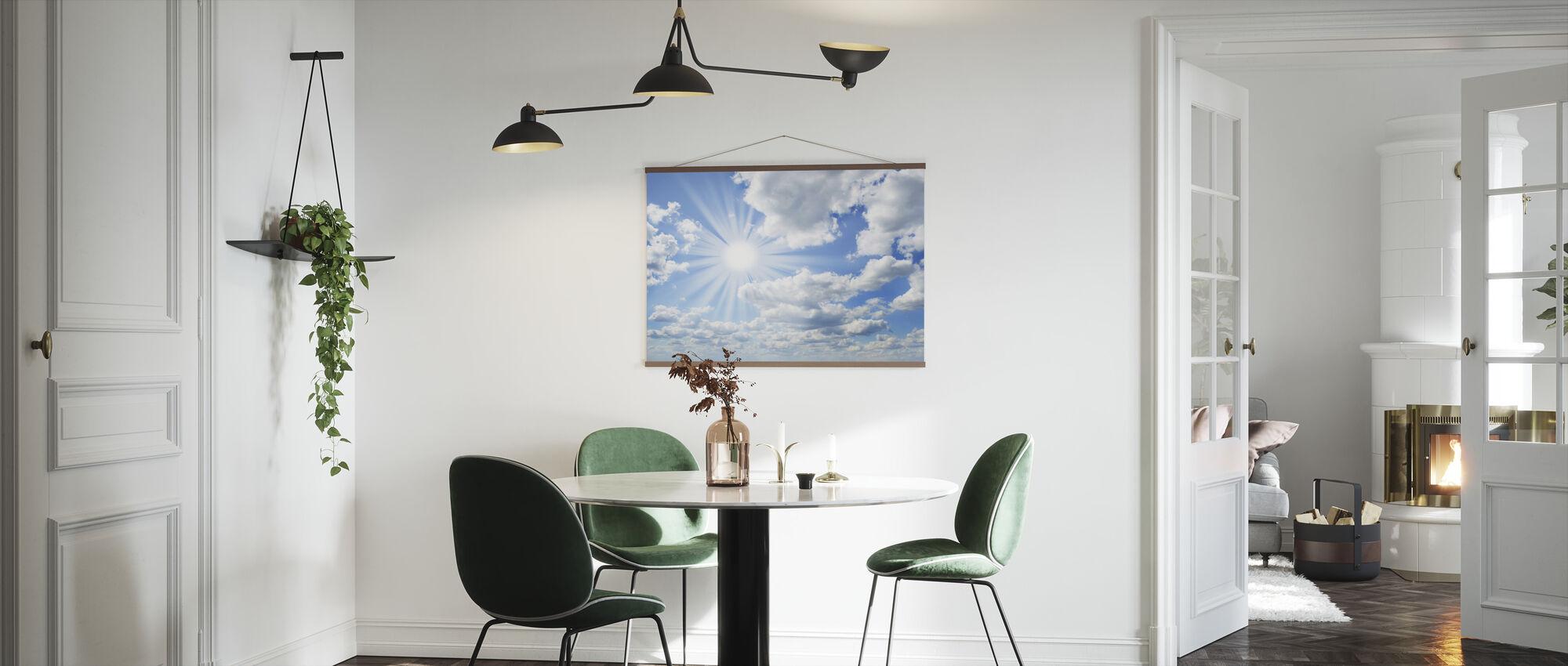 Zonnige dag - Poster - Keuken