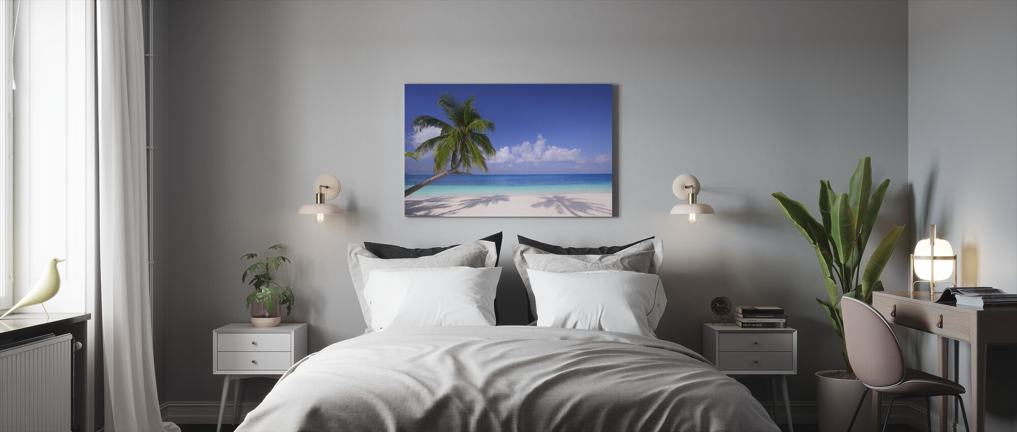 Island Paradise - Lerretsbilde - Soverom